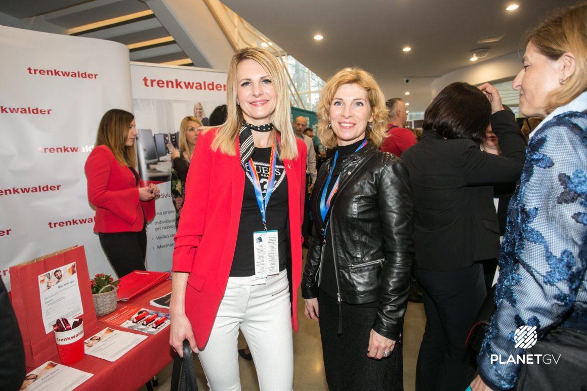 Damjana Ocvirk, vodja prodaje, Nataša Zuper, vodja PE Maribor | Trenkwalder