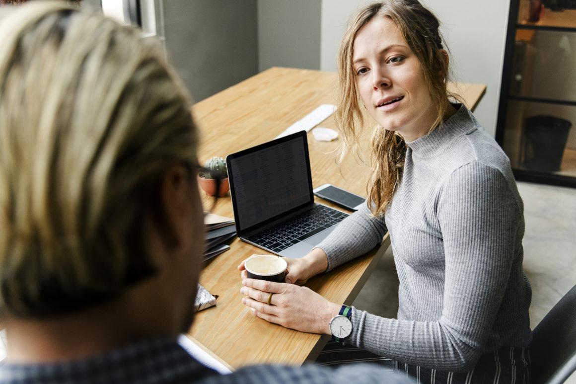 Povabite kadrovico na kavo in ji povejte želje, ki jih imate za svojo poklicno prihodnost. | Trenkwalder